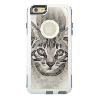 Coque OtterBox iPhone 6 Et 6s Plus Dessin de chaton du Bengale