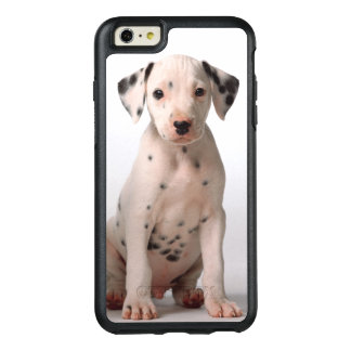 Coque OtterBox iPhone 6 Et 6s Plus Deux petits chiots dalmatiens noirs et blancs