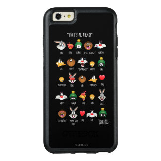 Coque OtterBox iPhone 6 Et 6s Plus Diagramme LOONEY de TUNES™ Emoji