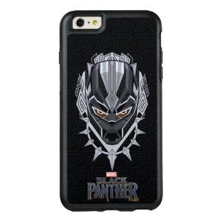 Coque OtterBox iPhone 6 Et 6s Plus Emblème de tête de panthère noire de la panthère