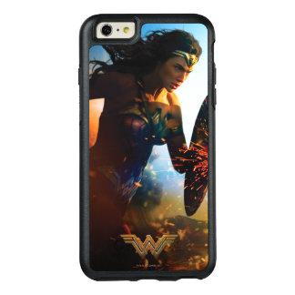 Coque OtterBox iPhone 6 Et 6s Plus Femme de merveille courant sur le champ de