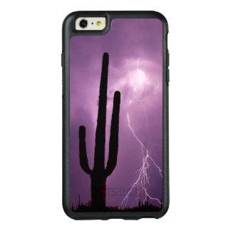 Coque OtterBox iPhone 6 Et 6s Plus Foudre et cactus pourpres, AZ