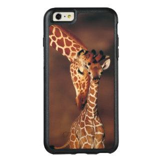 Coque OtterBox iPhone 6 Et 6s Plus Girafe adulte avec le veau (camelopardalis de