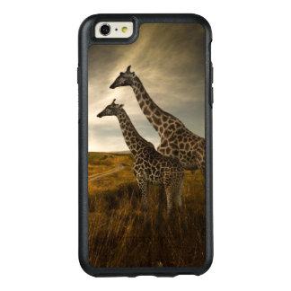 Coque OtterBox iPhone 6 Et 6s Plus Girafes et le paysage