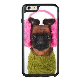 Coque OtterBox iPhone 6 Et 6s Plus Griffon de Bruxelles avec les bouche-oreilles