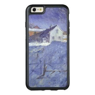 Coque OtterBox iPhone 6 Et 6s Plus Hiver à la loge argentée