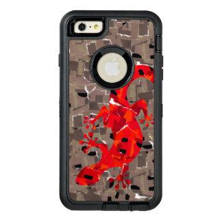 Coque OtterBox iPhone 6 Et 6s Plus Imaginaire de lézard de mosaïque