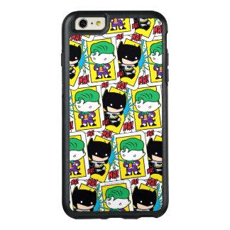 Coque OtterBox iPhone 6 Et 6s Plus Joker de Chibi et motif de carte de jeu de Batman