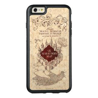 Coque OtterBox iPhone 6 Et 6s Plus La carte du maraudeur du charme | de Harry Potter