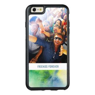 Coque OtterBox iPhone 6 Et 6s Plus L'aquarelle peinte à la main bleue   ajoutent la