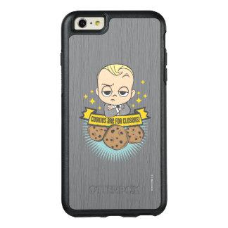 Coque OtterBox iPhone 6 Et 6s Plus Le bébé et les biscuits du bébé | de patron sont