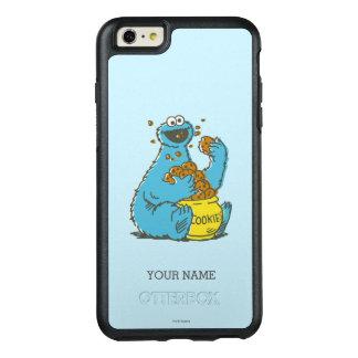 Coque OtterBox iPhone 6 Et 6s Plus Le cru | de monstre de biscuit ajoutent votre nom
