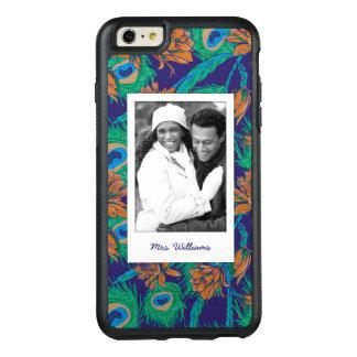 Coque OtterBox iPhone 6 Et 6s Plus Les fleurs et les plumes | ajoutent votre photo et