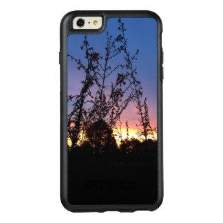 Coque OtterBox iPhone 6 Et 6s Plus Lever de soleil entre les tiges de silhouette de