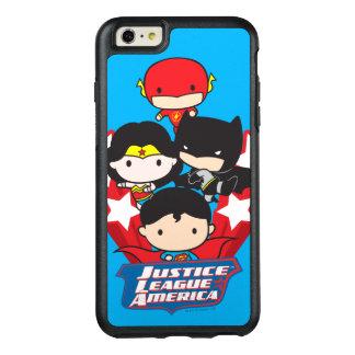 Coque OtterBox iPhone 6 Et 6s Plus Ligue de justice de Chibi des étoiles de