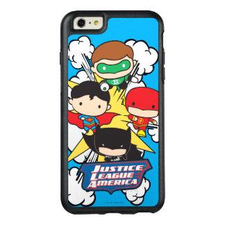 Coque OtterBox iPhone 6 Et 6s Plus Ligue de justice de Chibi d'explosion de