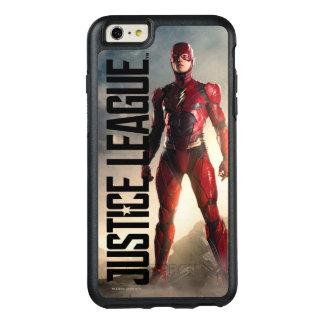 Coque OtterBox iPhone 6 Et 6s Plus Ligue de justice   l'éclair sur le champ de