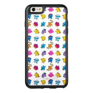 Coque OtterBox iPhone 6 Et 6s Plus M. Men et petit motif au néon de danse de la Mlle