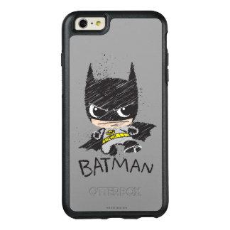 Coque OtterBox iPhone 6 Et 6s Plus Mini croquis classique de Batman