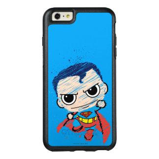 Coque OtterBox iPhone 6 Et 6s Plus Mini croquis de Superman - vol