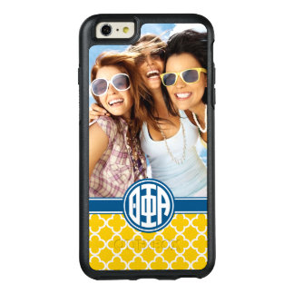 Coque OtterBox iPhone 6 Et 6s Plus Monogramme et photo de l'alpha | de phi de thêta