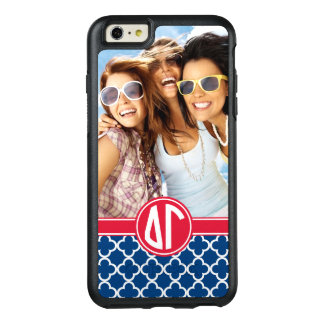 Coque OtterBox iPhone 6 Et 6s Plus Monogramme et photo du gamma | de delta