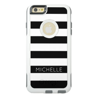 Coque OtterBox iPhone 6 Et 6s Plus Motif blanc noir chic moderne Girly Cust de