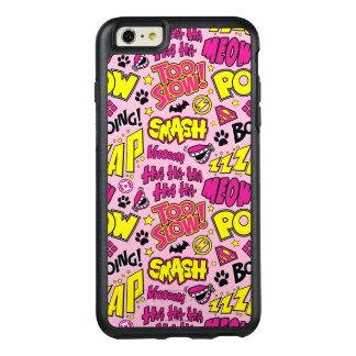Coque OtterBox iPhone 6 Et 6s Plus Motif comique d'expressions et de logos de Chibi