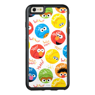 Coque OtterBox iPhone 6 Et 6s Plus Motif de caractère de cercle de Sesame Street