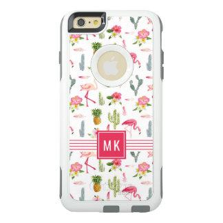 Coque OtterBox iPhone 6 Et 6s Plus Motif de ketmie d'ananas de cactus de flamant