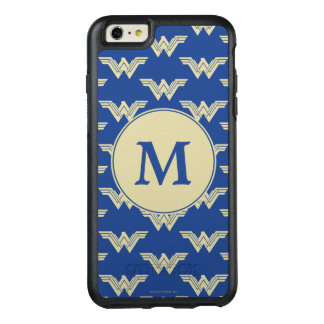 Coque OtterBox iPhone 6 Et 6s Plus Motif de logo de femme de merveille de monogramme