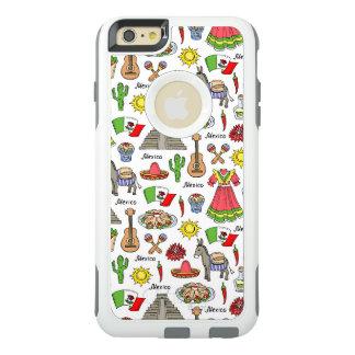 Coque OtterBox iPhone 6 Et 6s Plus Motif de symboles du Mexique  