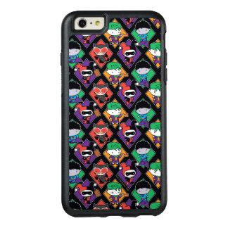 Coque OtterBox iPhone 6 Et 6s Plus Motif de voyou de ligue de justice de Chibi