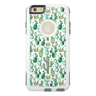 Coque OtterBox iPhone 6 Et 6s Plus Motif d'usines de cactus d'aquarelle
