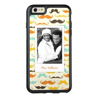 Coque OtterBox iPhone 6 Et 6s Plus Motif fait sur commande 3 de photo et de moustache