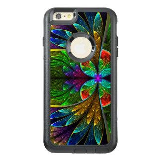 Coque OtterBox iPhone 6 Et 6s Plus Motif floral abstrait en verre souillé