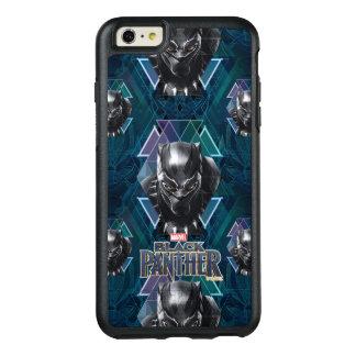 Coque OtterBox iPhone 6 Et 6s Plus Motif géométrique noir de caractère de la panthère