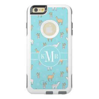 Coque OtterBox iPhone 6 Et 6s Plus Motif mignon de cactus de lama d'alpaga