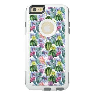 Coque OtterBox iPhone 6 Et 6s Plus Motif peint à la main de cactus d'aquarelle