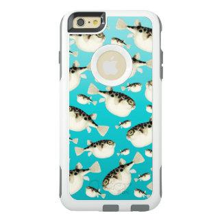 Coque OtterBox iPhone 6 Et 6s Plus Motif turquoise de poissons de décolleur