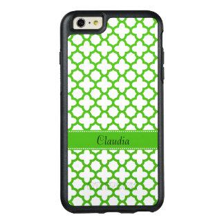 Coque OtterBox iPhone 6 Et 6s Plus Motif vert de Kelly Quatrefoil