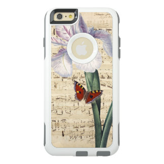 Coque OtterBox iPhone 6 Et 6s Plus musique d'iris et de papillon