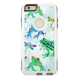 Coque OtterBox iPhone 6 Et 6s Plus Nature de libellule de grenouilles d'arbre