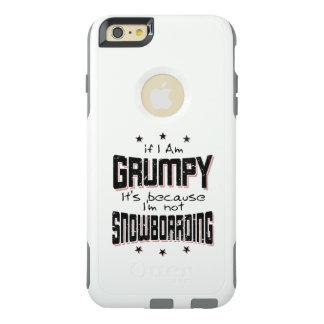 Coque OtterBox iPhone 6 Et 6s Plus NE PAS FAIRE DU SURF DES NEIGES GRINCHEUX (noir)
