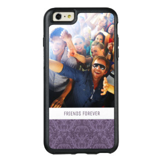 Coque OtterBox iPhone 6 Et 6s Plus Papier peint pourpre de luxe fait sur commande de