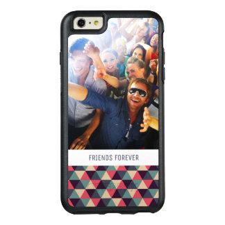 Coque OtterBox iPhone 6 Et 6s Plus Photo et texte fait sur commande Teal et motif