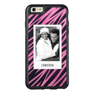 Coque OtterBox iPhone 6 Et 6s Plus Photo faite sur commande et arrière - plan rose