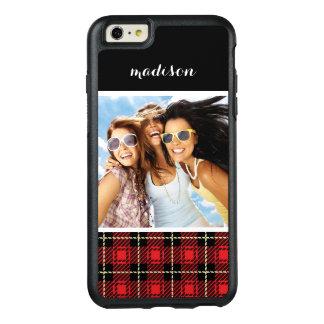 Coque OtterBox iPhone 6 Et 6s Plus Photo faite sur commande et arrière - plan rouge
