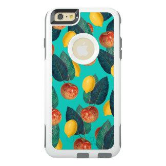 Coque OtterBox iPhone 6 Et 6s Plus pommes et citrons turquoises