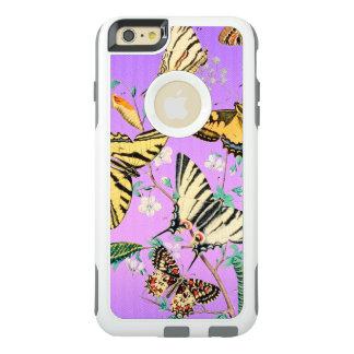Coque OtterBox iPhone 6 Et 6s Plus Pourpre de mélange de papillon